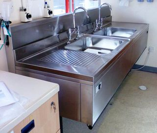 Sinks Height Adjustable Amp Static Goldsworth Medical